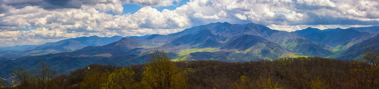 The Smoky Mountains: Mount Le Conte Ridge